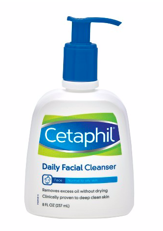 Cetaphil Daily Facial Cleanser,  $8.99