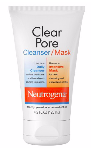 Neutrogena Clear Pore Facial Cleanser/Mask,  $6