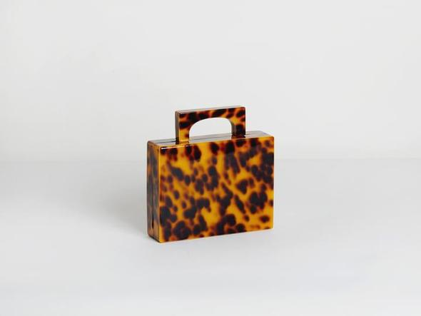 Alexa Bag in Tortoiseshell, $279