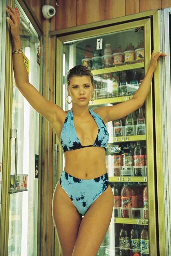 Blue Jordan Bikini Top, $90