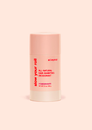 Slow Your Roll, All-natural hair inhibiting deodorant,  $12