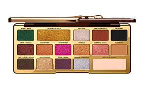 Too Faced Chocolate Gold Eyeshadow Palette,  $49