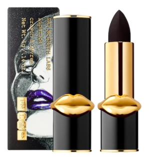 MatteTrance Lipstick in Deep Blackened Purple, $40