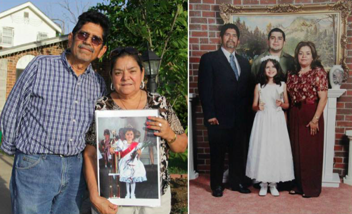 Selena with her paternal grandparents, Ricardo and Maria Gomez. Via  Body Height Weight