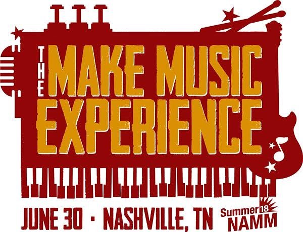 "FREE PASS TO NAMN with  @musicstartshere  On Saturday June 30 at Music City Center, Summer NAMM will host the inaugural Make Music Experience, an all-day, all-access pass for consumer and prosumer audiences who want to demo the latest music and pro audio gear, meet with top music manufacturers, and explore career-enhancing education and networking opportunities with the music industry's top insiders.  For Music Starts Here Fans & Muziqueen Friends, get your ticket to attend for FREE! (limited supply) All you need is the FREE CODE:  MUSICSTARTSHERE  HOW TO USE THE CODE STARTING NOW:  1. Visit this link to register for Summer NAMM/The Make Music Experience - https://registration.experientevent.com/ShowAMM182/flow/public and enter requested information.  2. At the payment page, enter MUSICSTARTSHERE in the ""PROMO CODE"" box and click NEXT. The ticket will then be free :-) Buy Tickets in advance for The Make Music Experience using this link: https://www.namm.org/summer/2018/make-music-experience Advance Tickets: $10 Tickets at the Door: $20"