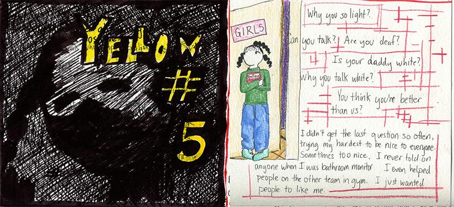 Yellow #5 comic