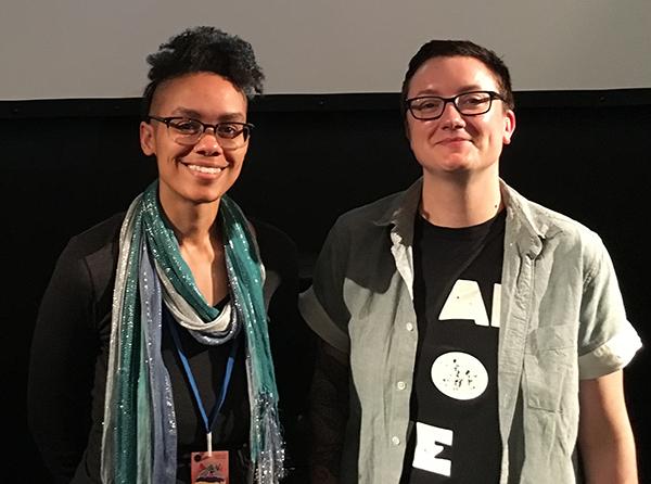 Carrie Hawks & Helen Wright, festival coordinator