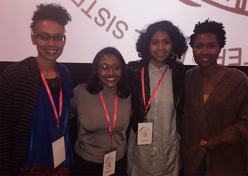 me, Marjuan Canady, Gabrielle Moses, & Francesca Andre (L to R)