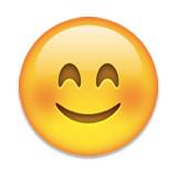 Emoji smiley face