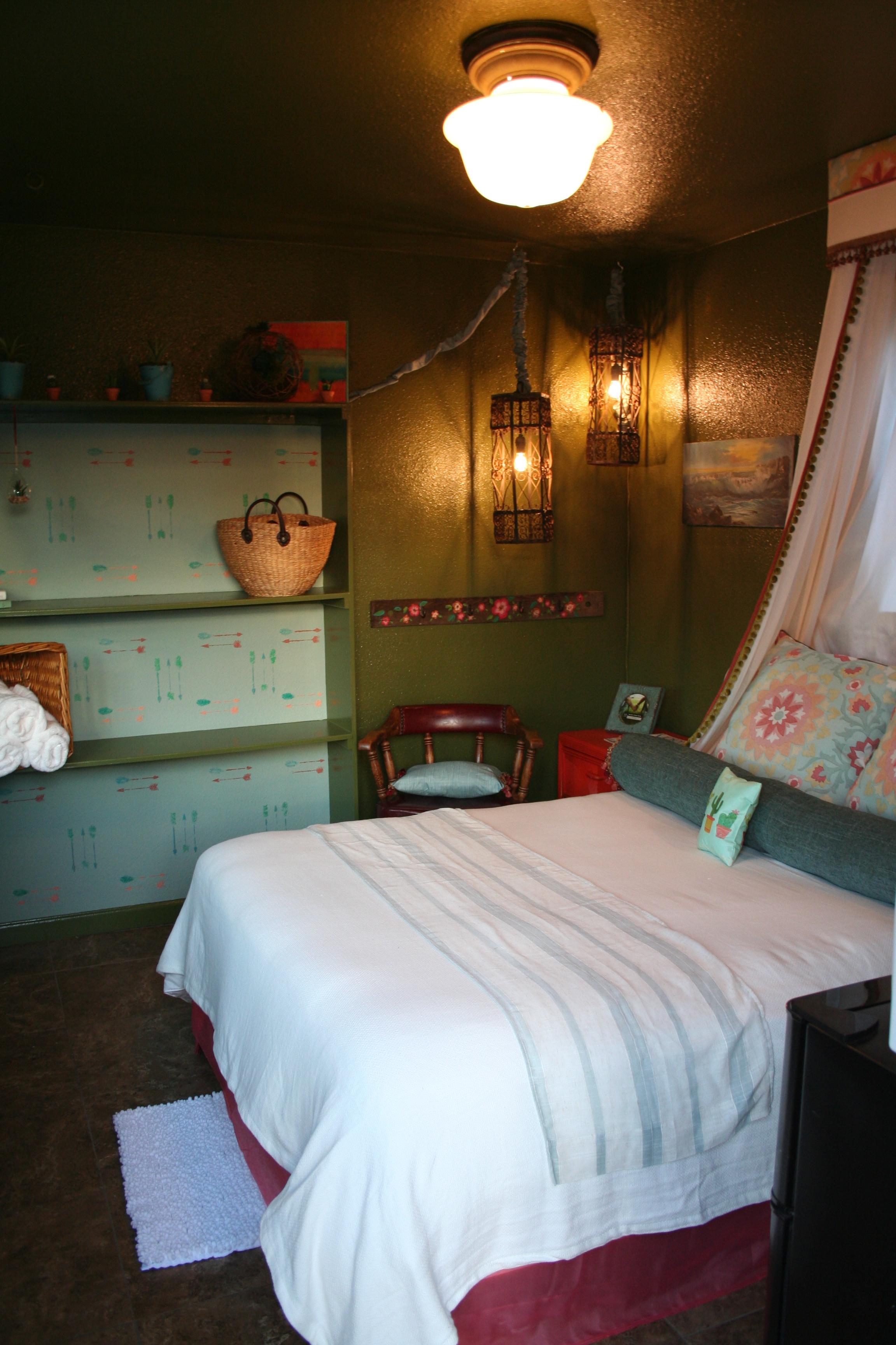 The Sol Shack is the Yoga Shack's stylish, boho chic accommodations.