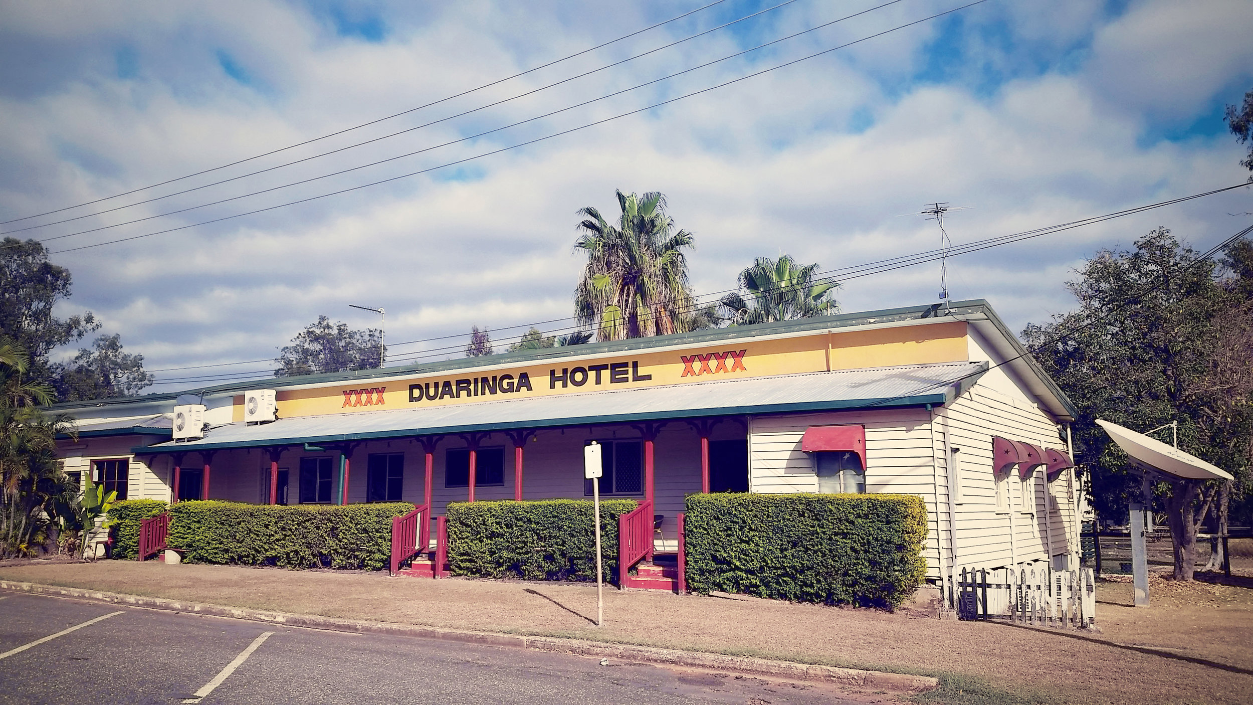 Duaringa Pub- make sure you arrive in time for the $4 schooners at happy hour.