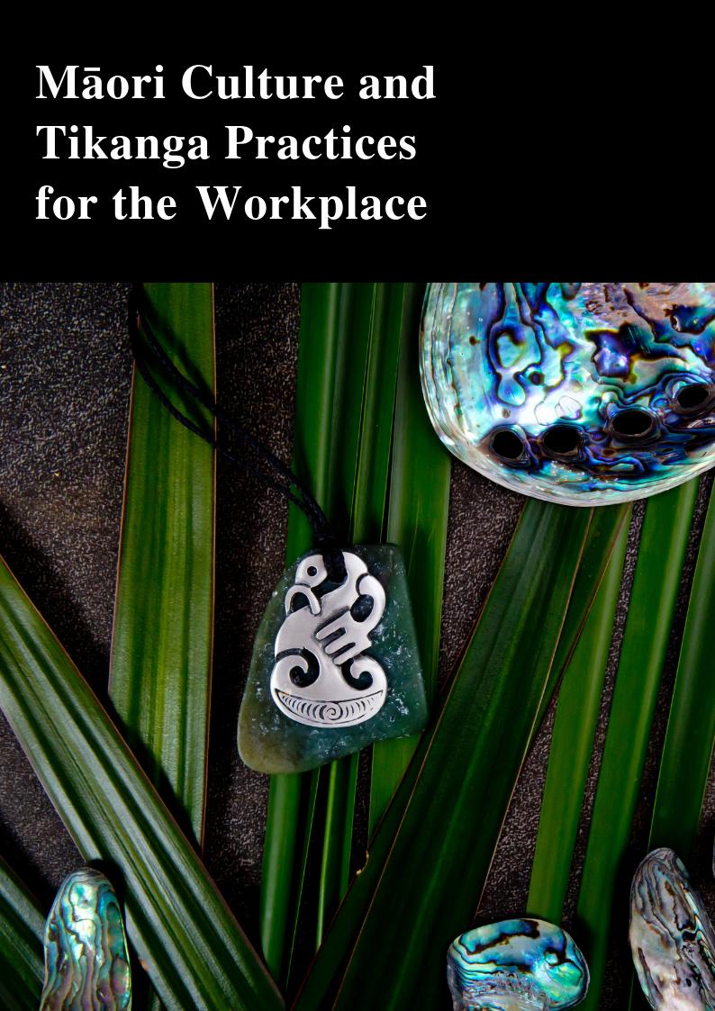 Māori Culture and Tikanga for the Workplace