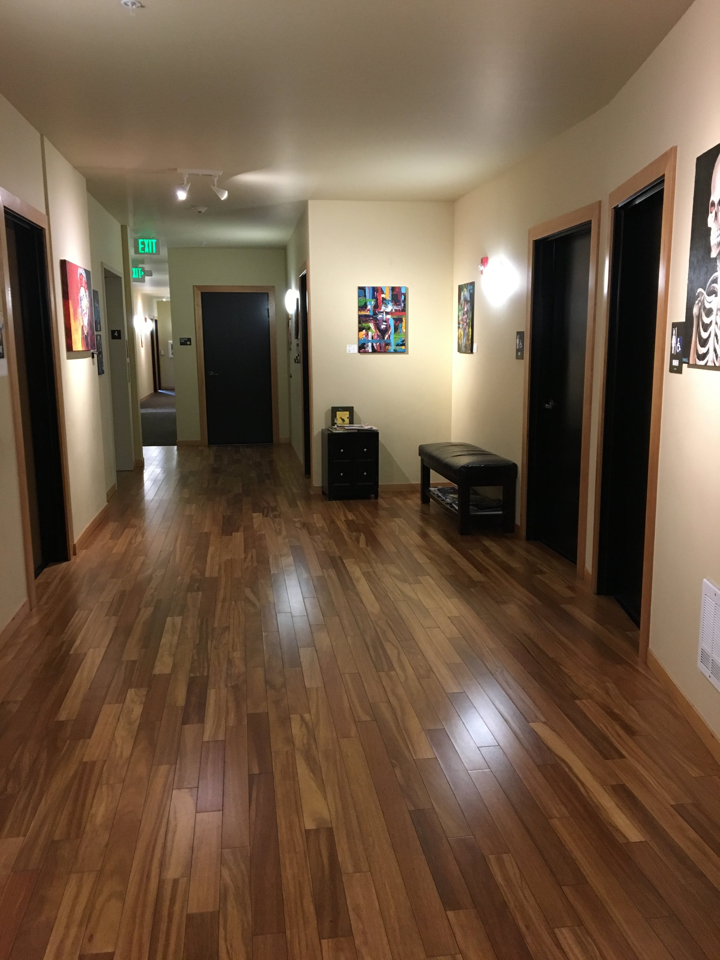 Seattle therapy office waiting space for kids and adults