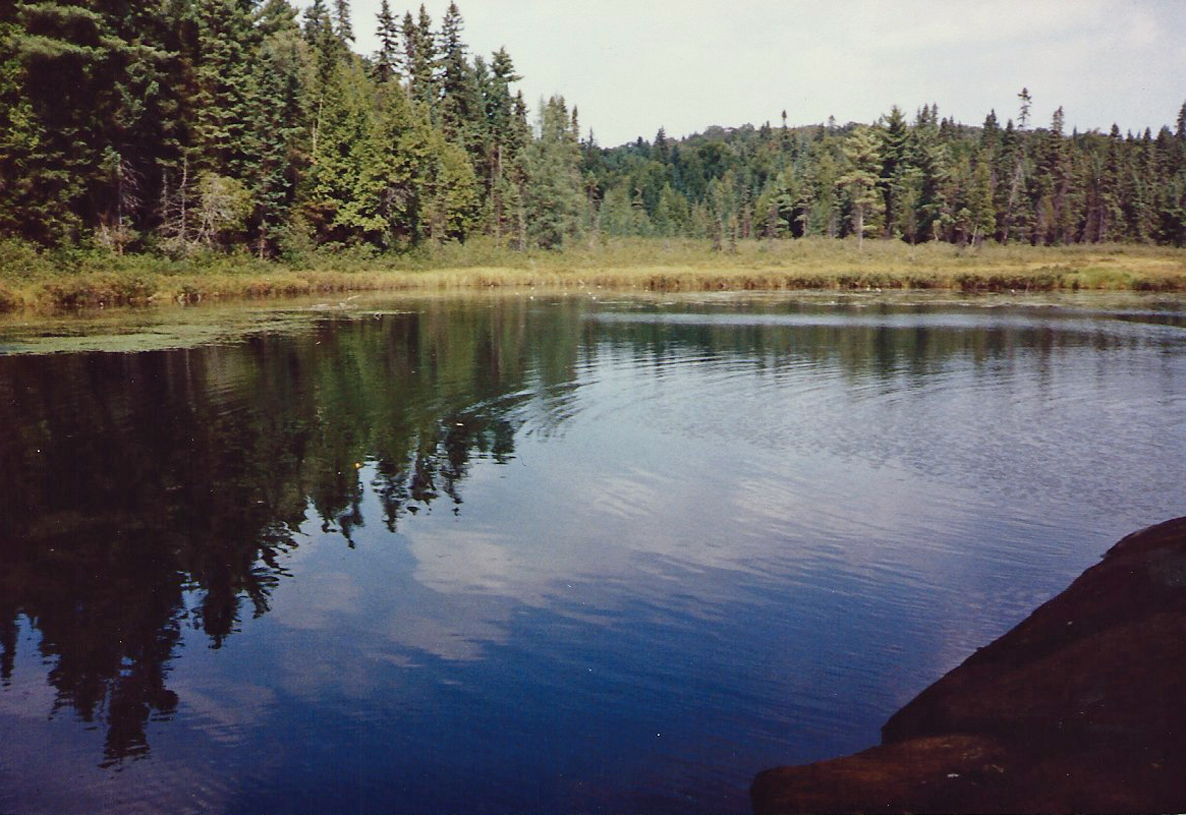 Looking for the mouth of the Petawawa River