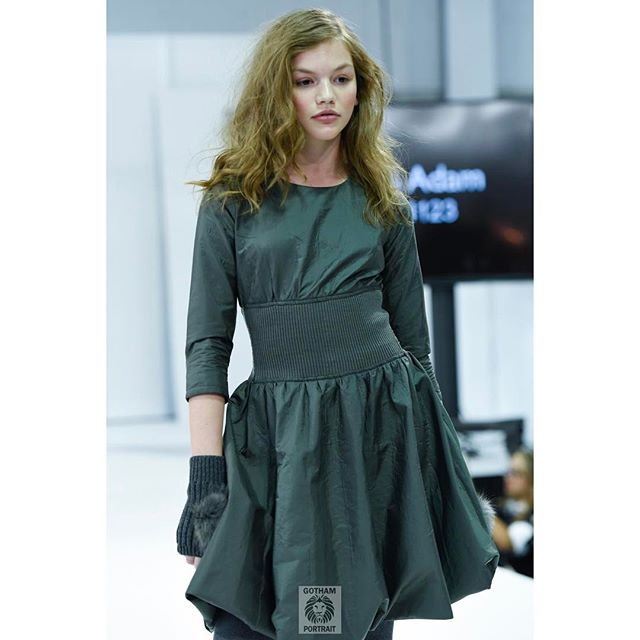 The stylish @cassidy_eveler walking for @madamandadam  @petiteparade #petiteparade  #madamandadam #nycphotographer #kidsphotography #runwayphotographer