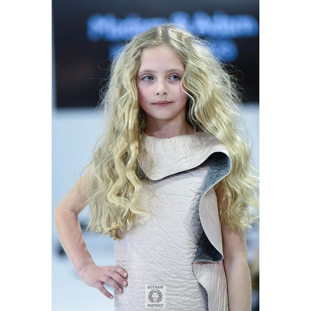 Wow! @leduccasagrande looks amazing walking for @madamandadam  @petiteparade #petiteparade  #madamandadam #nycphotographer #kidsphotography #runwayphotographer