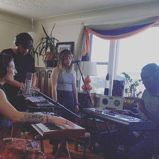 Recording live @ Celci manor