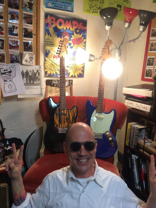 Jem and the Black Bomber and Blue Bomber donated guitars!