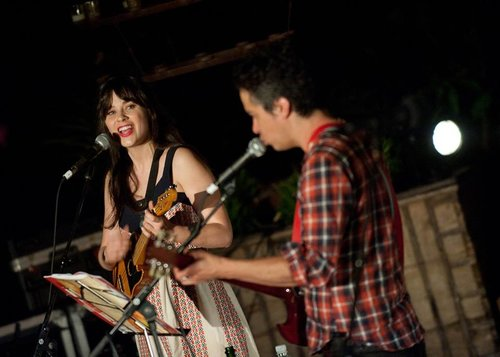 She & Him performing at our LA carnival in 2012