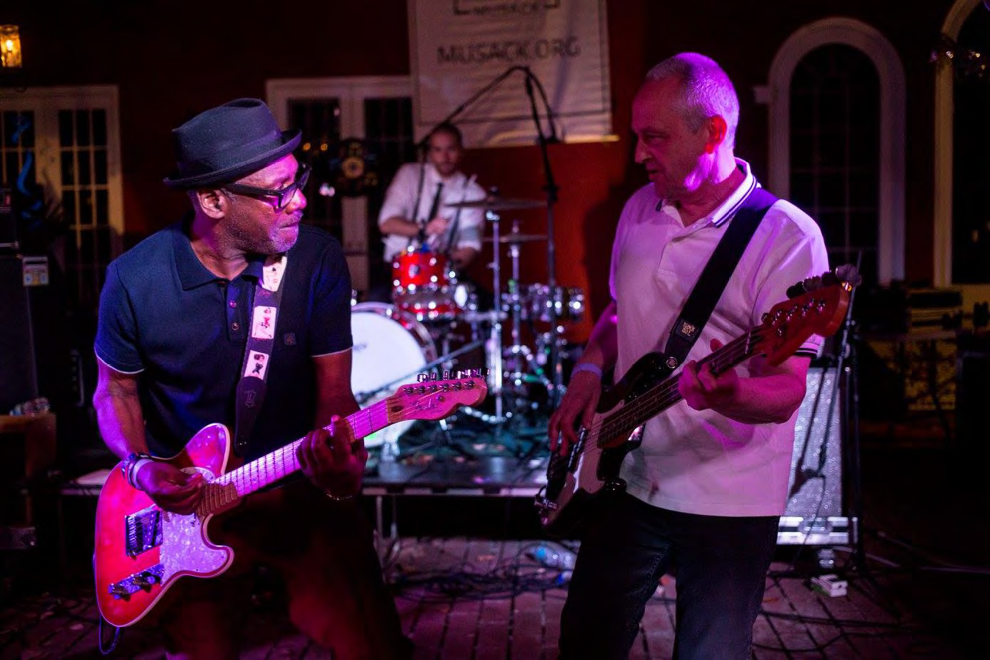 Lynval Golding and Horace Panter (The Specials) performing at our 2016 LA Carnival