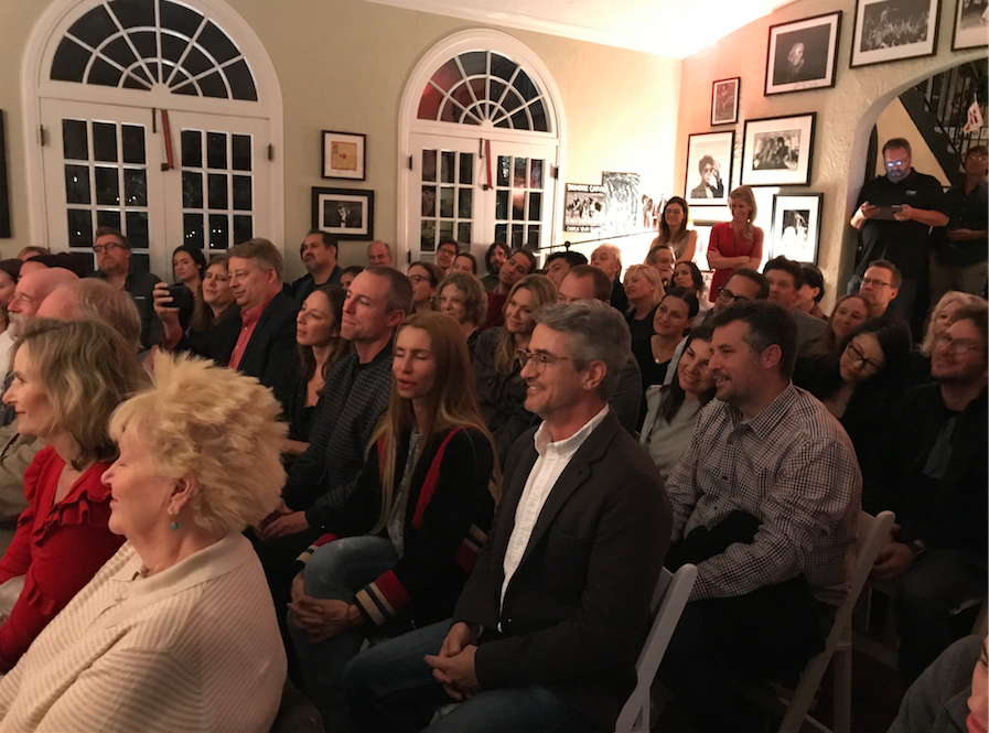 The living room crowd