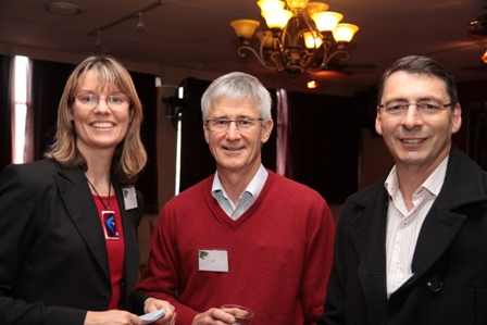 Lisa Haley and clients at Unified Financial Services end of year function.JPG