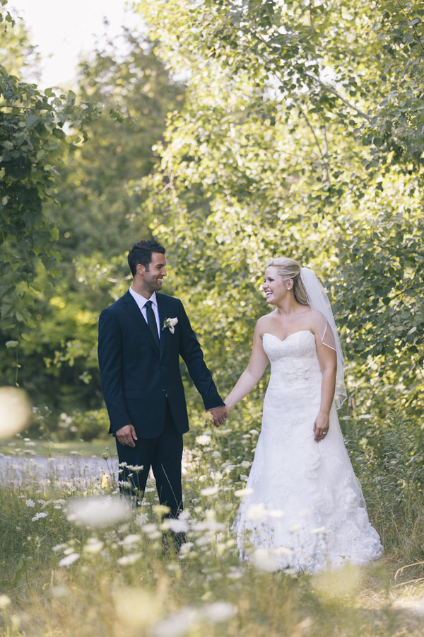 Wildflowers Wedding Photo