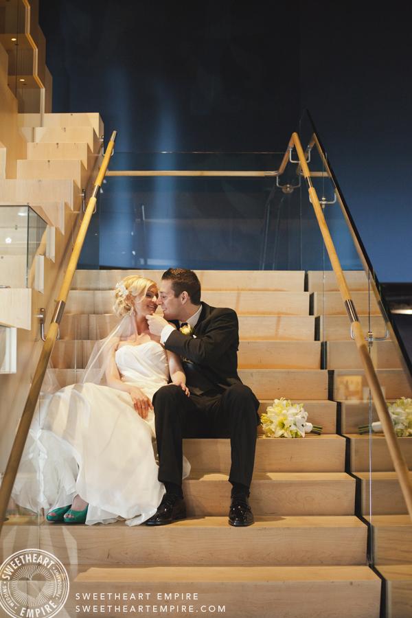 Bata Shoe Museum Wedding