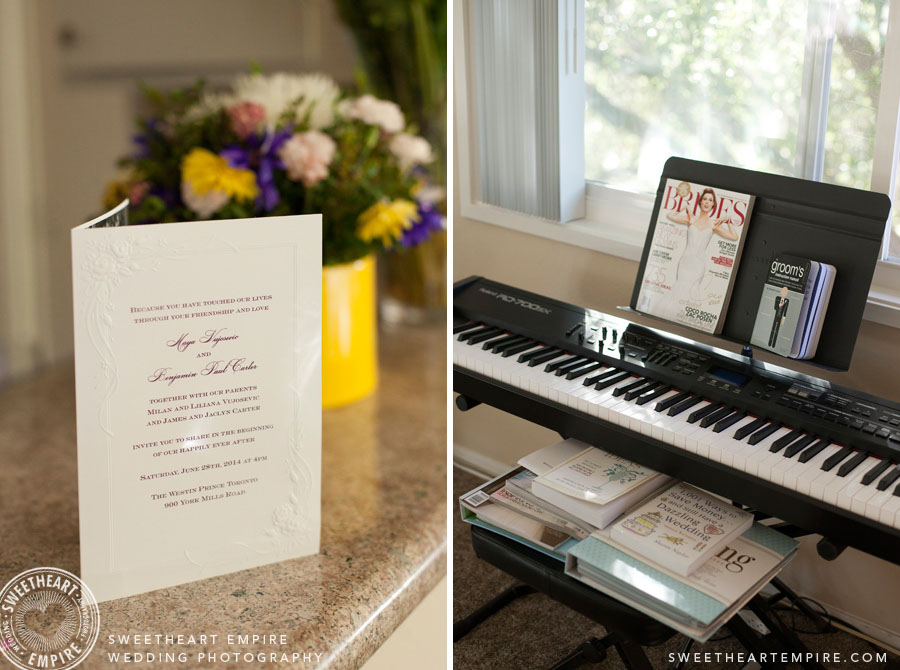 Wedding Planning at home