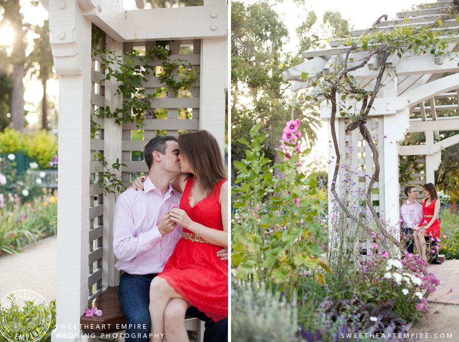 Engagement Photos Elizabeth Gamble Gardens