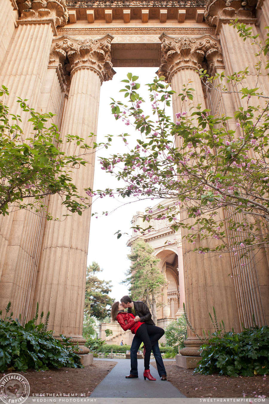 Palace of Fine Arts Engagement Photos