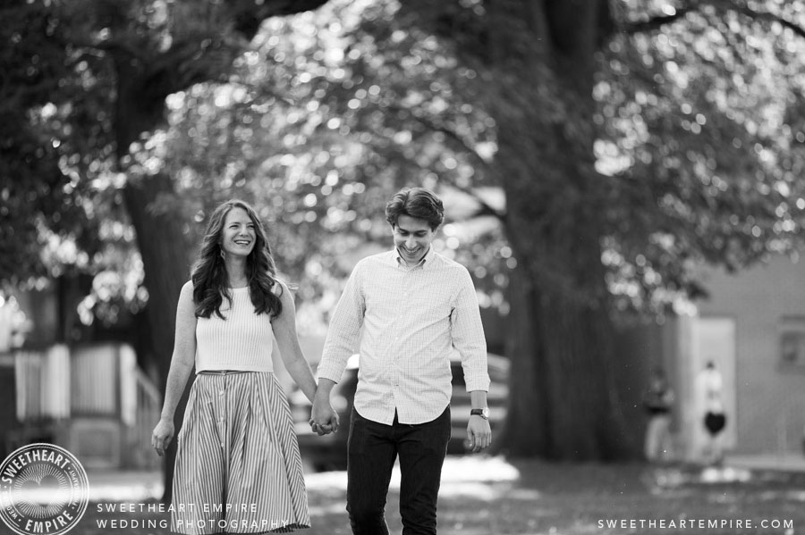 Alexandra Park Toronto Engagement Photo