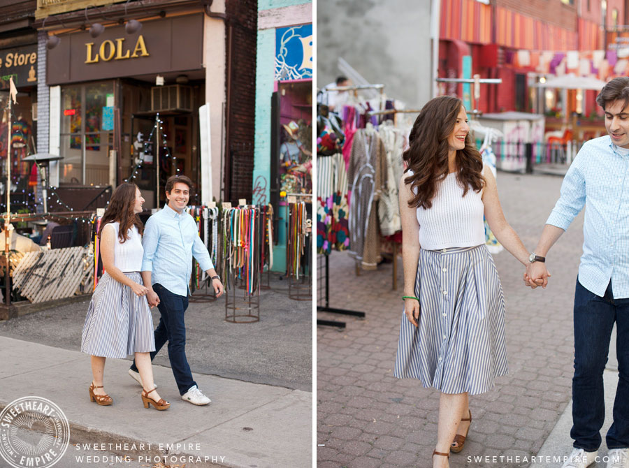 Engagement Photos Kensington Market