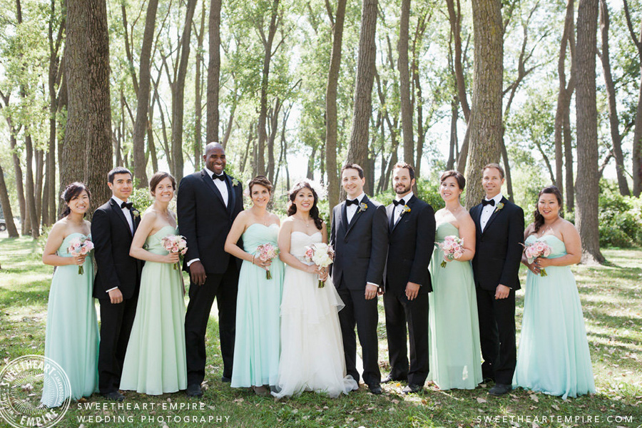 Wedding photographers look for lighting & locations that will accentuate the special people at your wedding.
