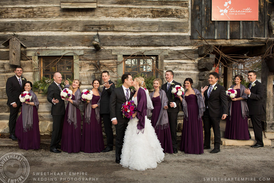 Kleinburg wedding party