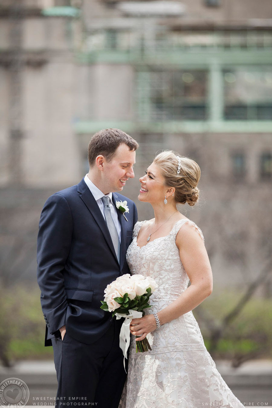 Toronto Financial District Wedding
