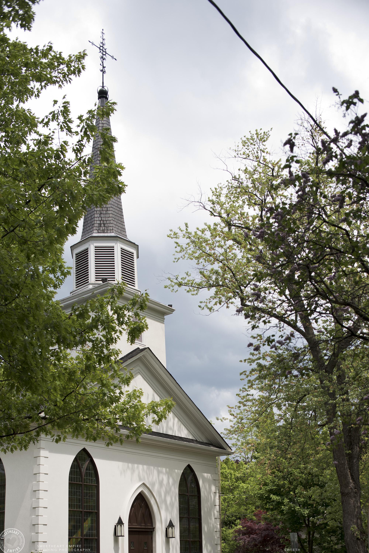 Wedding chapel at Oakville Golf Club Wedding