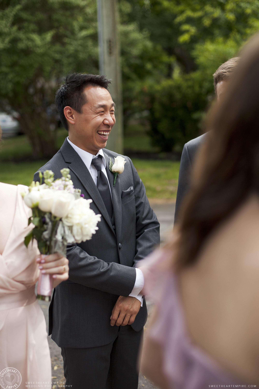 Happy groomsmen, Oakville Golf Club Wedding