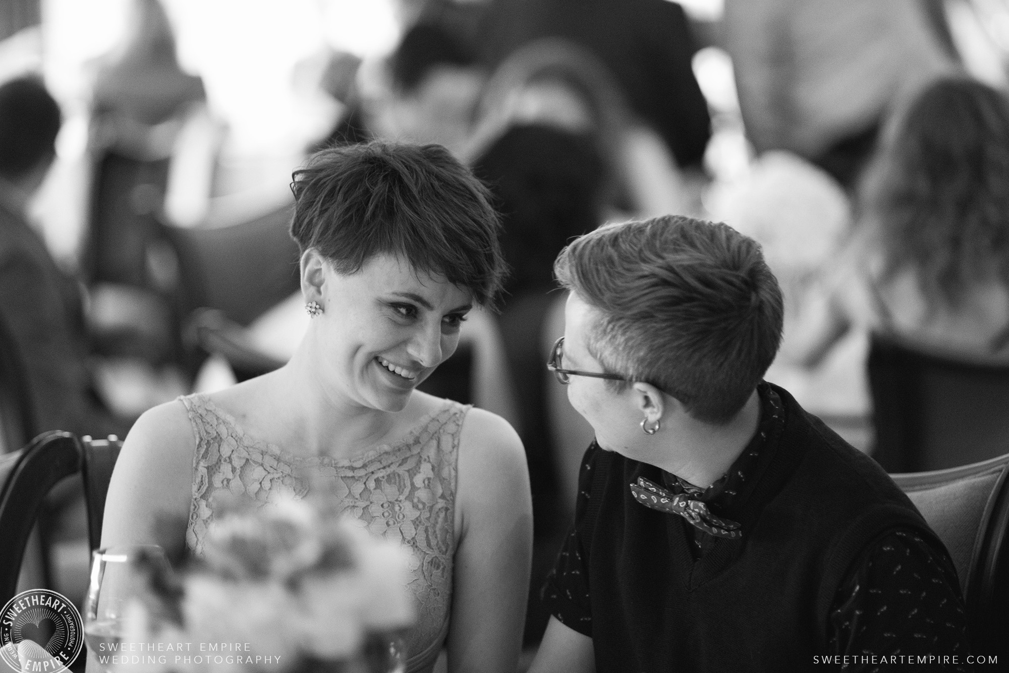 Wedding guests at the Oakville Golf Club.jpg