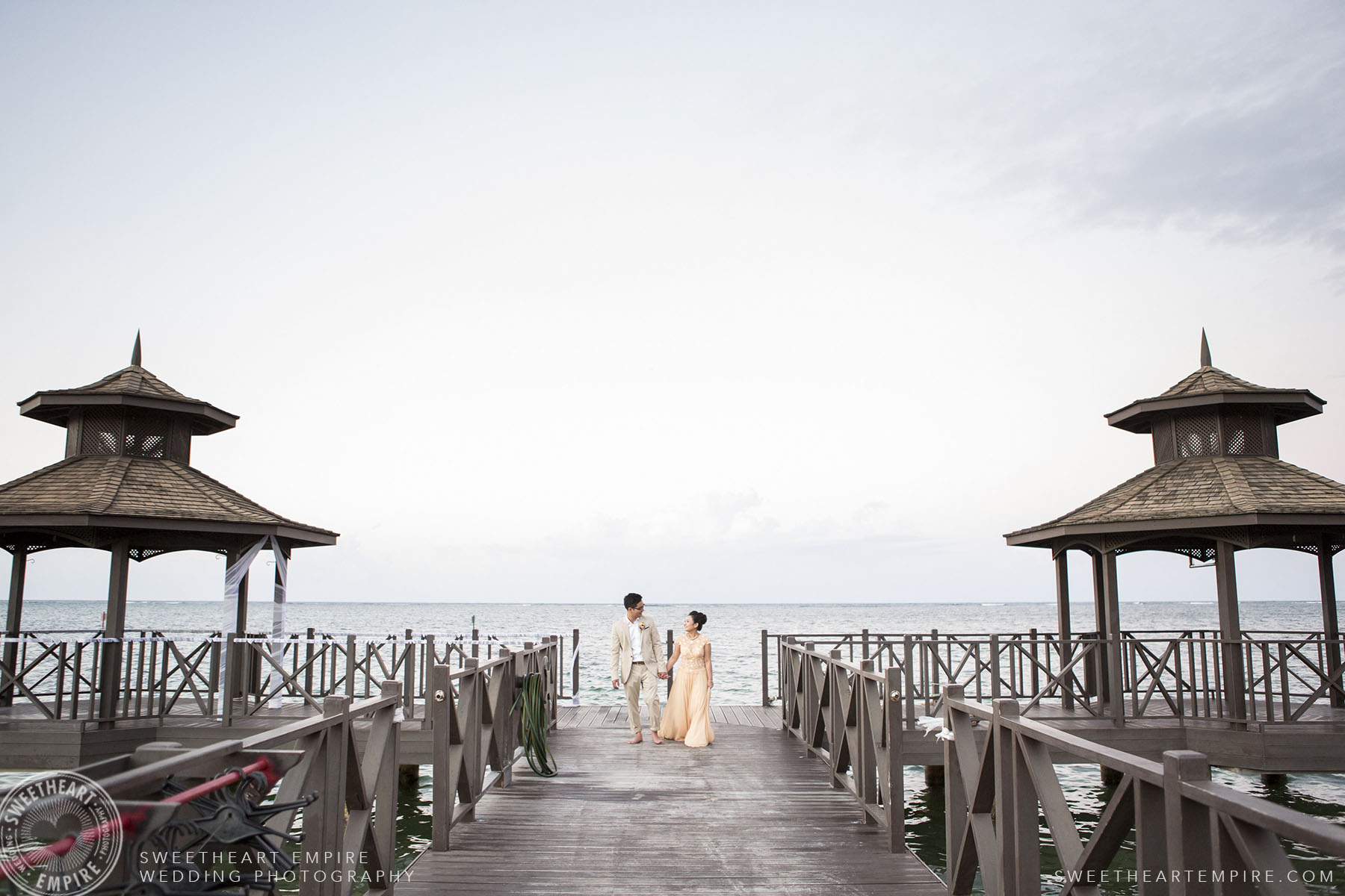 Destination Wedding in Iberostar Grand Hotel Rose Hall, in Montego Bay, Jamaica