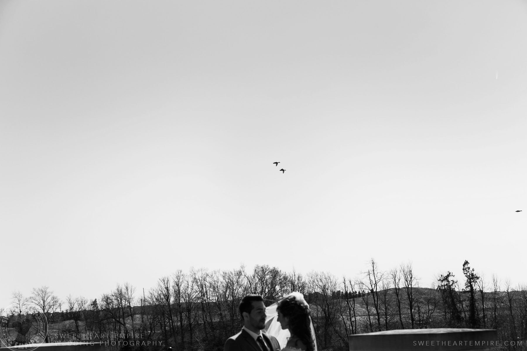 Bride and groom photo; Eagles Nest Golf Club Wedding Photos