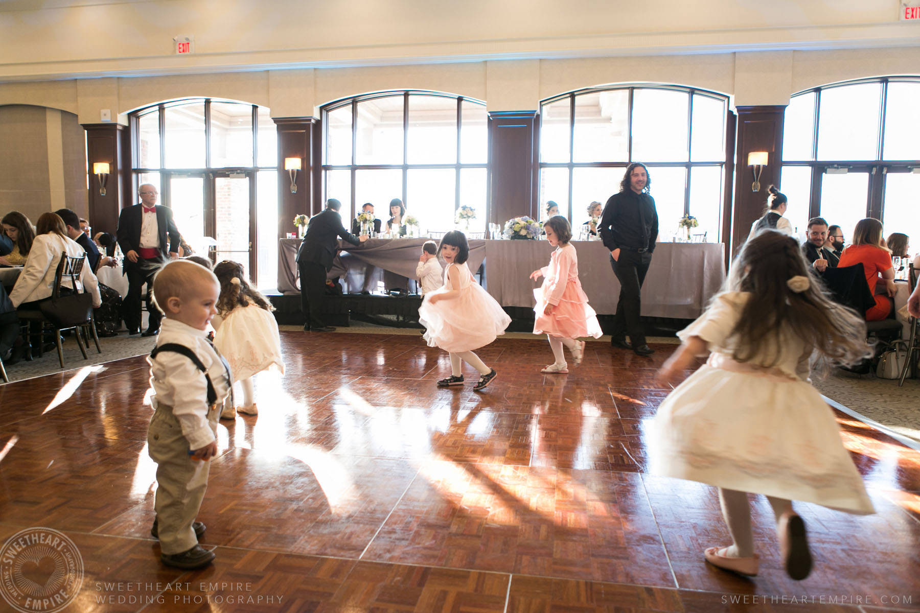 Kids dancing on the dance floor, Eagles Nest Golf Club Wedding