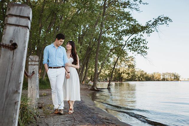 ✨Loved photographing these two at Cherry Beach for their engagement session. This was one of my lucky winning couples from the @theweddingco Market! ✨I had so much fun engaging them in my storytelling games, and they pretty much forgot about the camera and went into their own world (which is the point of the whole session)! ✨All around, a truly beautiful pair, and a perfect day.✨✨✨ #sweetheartempirecouples