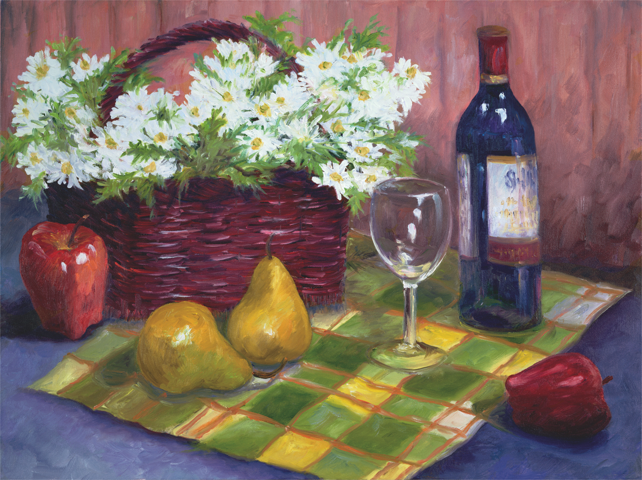 Wine and Daisies