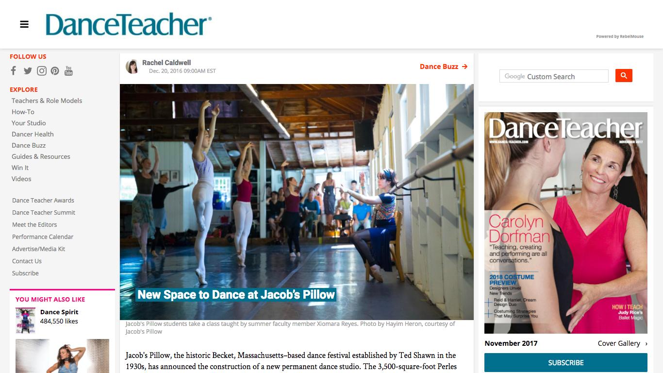 http://www.dance-teacher.com/new-dance-space-jacobs-pillow-2392820412.html