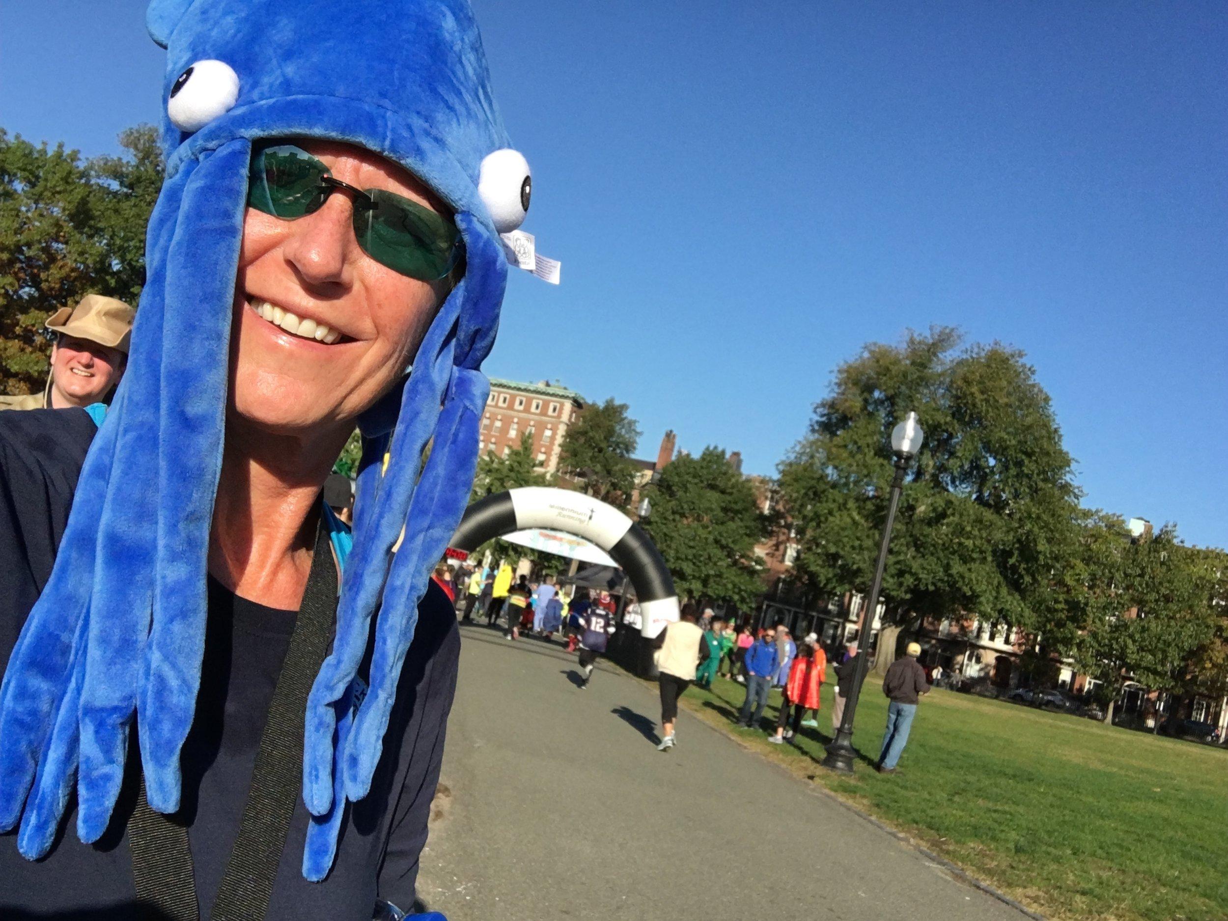 DARCIE EVANS - At A Halloween Costume 5k in Boston
