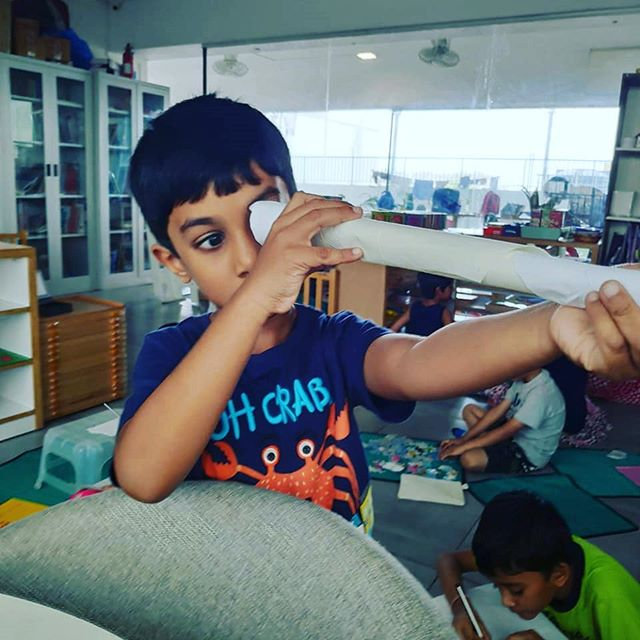 'What are the conditions of the creative attitude, of seeing and responding, of being aware and being sensitive to what one is aware of? First of all it requires the capacity to be puzzled. Children still have the capacity to be puzzled.' . -- Erich Fromm .  The Montessori environment is designed to support children's authentic creativity. .  For instance, you are unlikely to see children being asked to replicate a model product mindlessly. Instead, you will see them practicing their fine motor control so that, when they want to draw or paint a particular object, they are physically ready. .  You'll see children learning how to observe small differences in what they see, so that they are able to represent those differences clearly. You will see children making their own discoveries and revelling in them. .  A critical quality that Montessori preserves in children is their willingness to take risks and make mistakes. When children are truly creative, they are doing more than just repeating ideas that someone showed them.  Creativity requires courage, lest we forget! .  These children are truly thinking for themselves and bringing something new to the world, a new way of seeing. These are the great inventors of tomorrow.