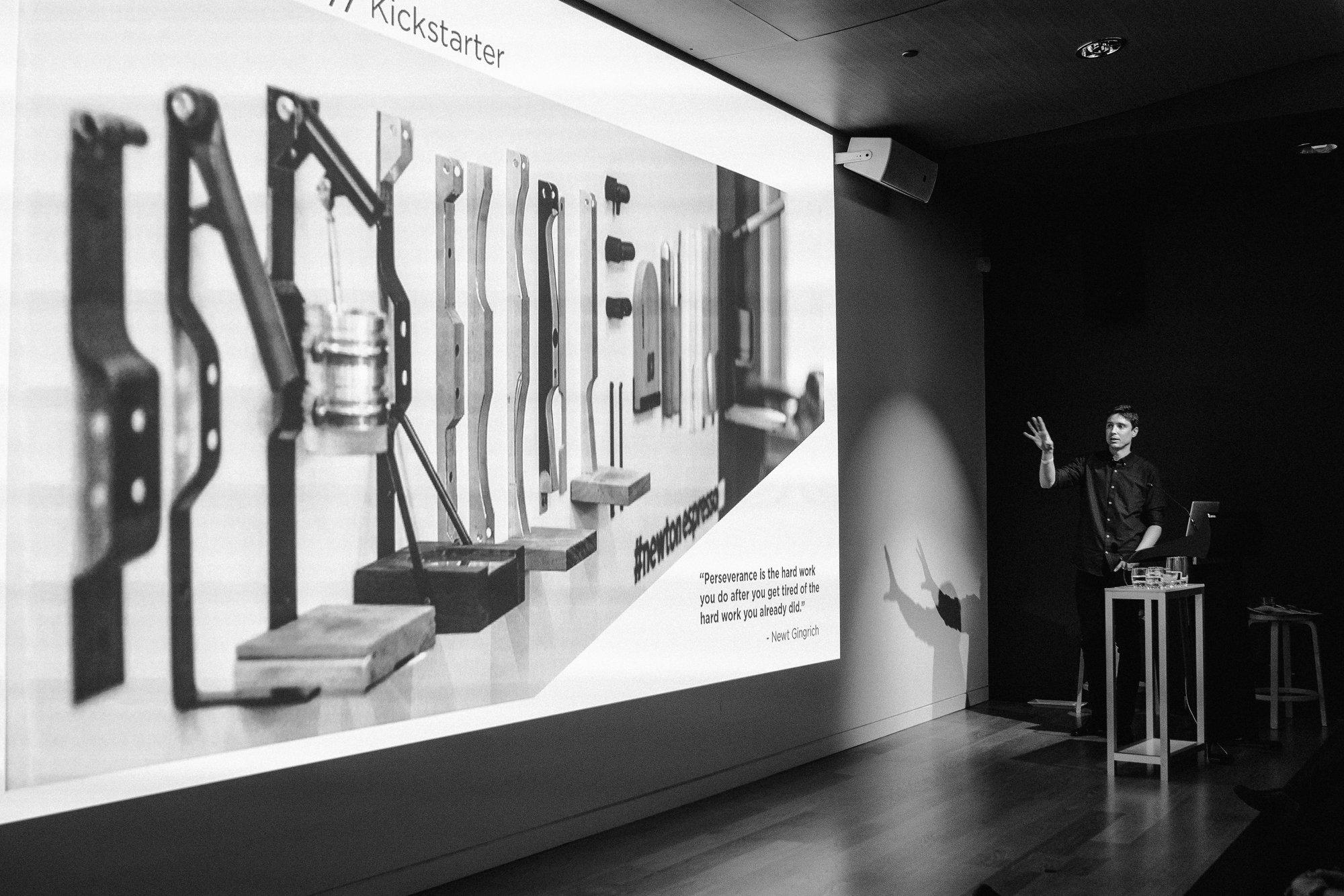 Newton Espresso Design Presentation Prototypes