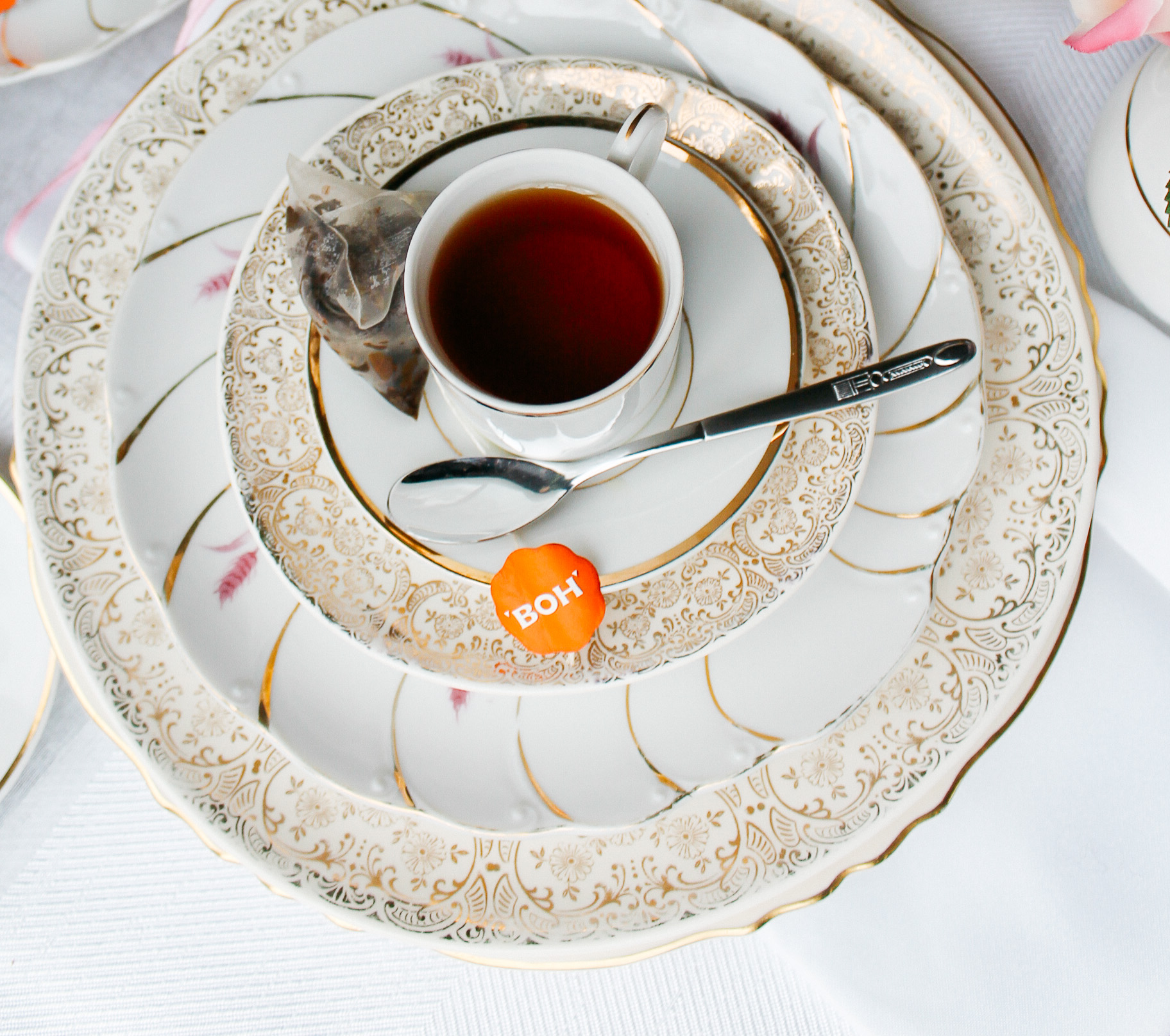 BOH Garden Teas // Garden Tea Decor, Styled by Always Creating Studio
