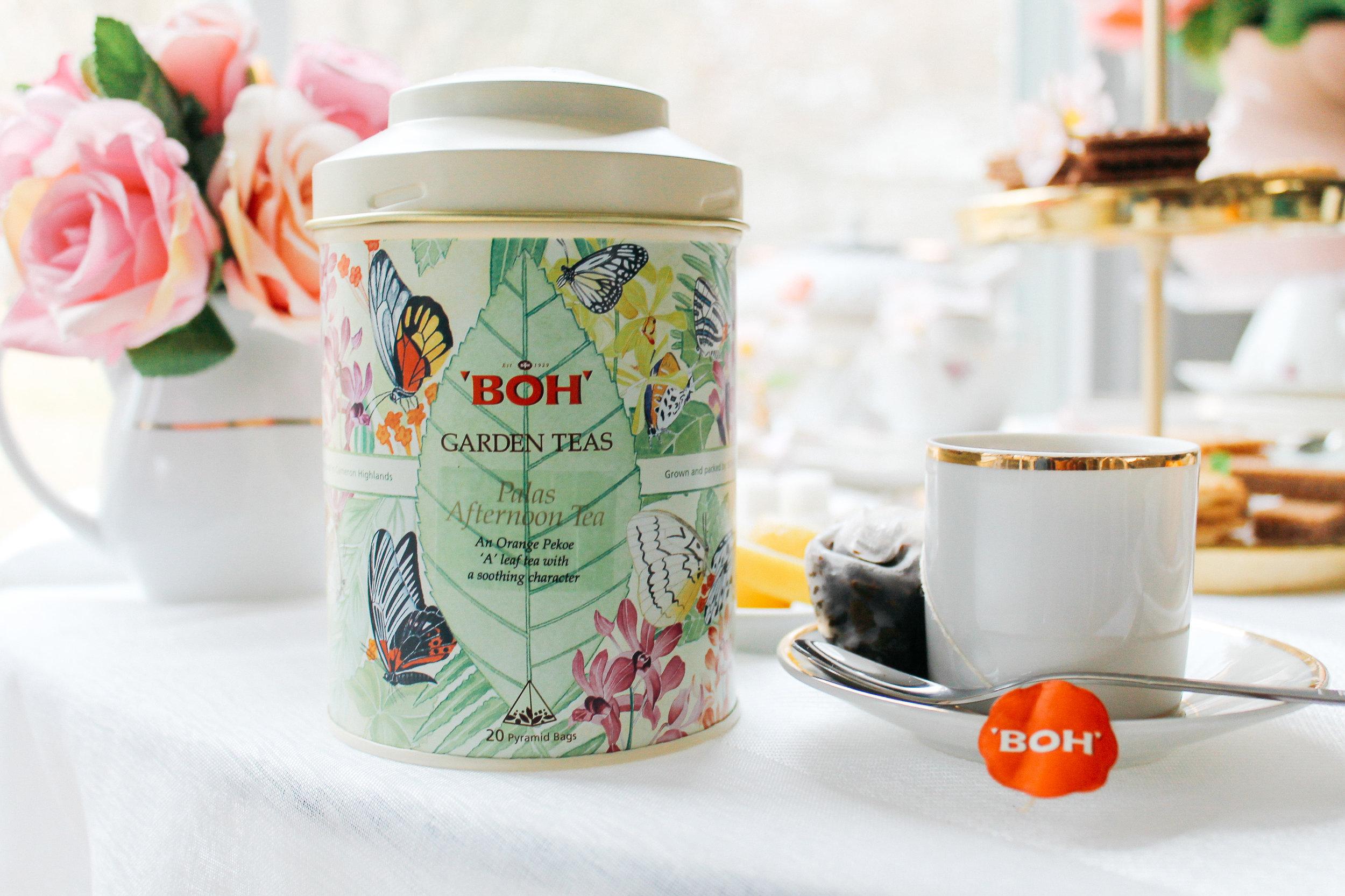 BOH Garden Teas // Garden Tea Party Decor Idea, Styled by Always Creating Studio